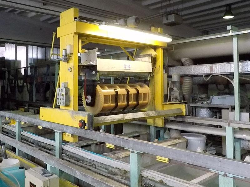processi galvanici - pulitura manufatti